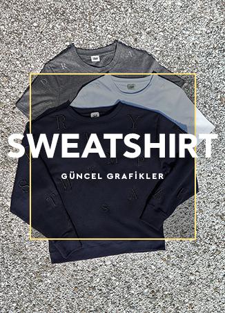 E sweatshirt