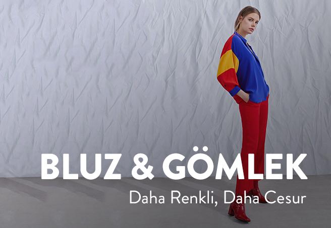 K Bluz Gömlek