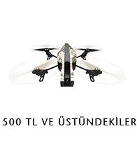 500 TL üstü