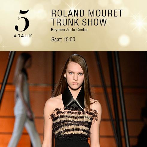 Roland Mouret Trunk Show