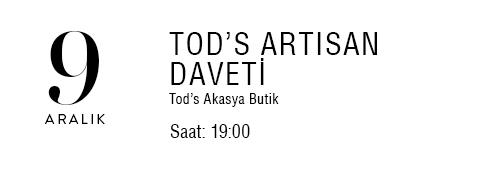 Tod's ARTISAN Daveti