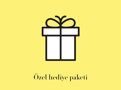 Özel hediye paketi
