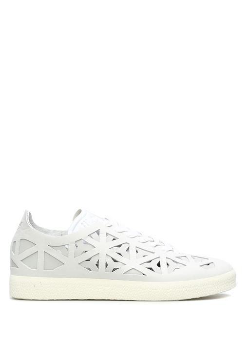 adidas Gazelle Cutout Kadın Beyaz Sneaker