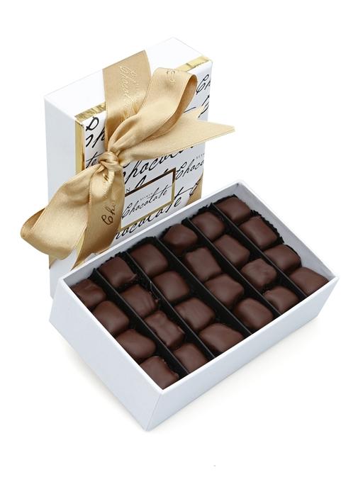 Bitter Çikolata Kaplı 245 Gr Fıstıklı Lokum