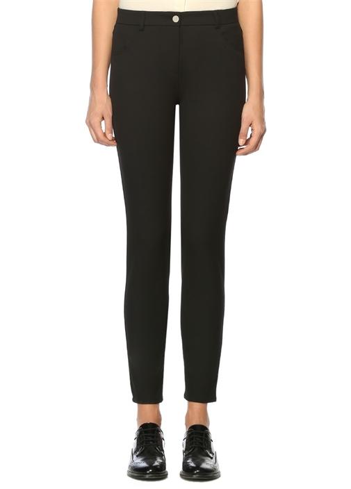 Siyah 5 Cepli Skinny Pantolon