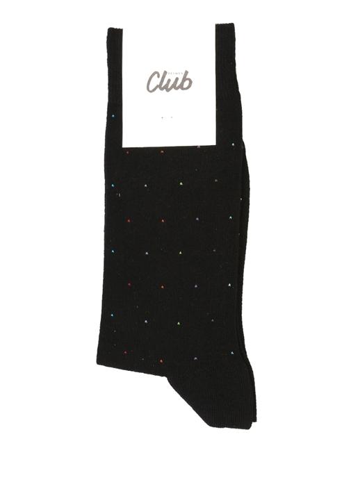 Siyah Desenli Erkek Çorap
