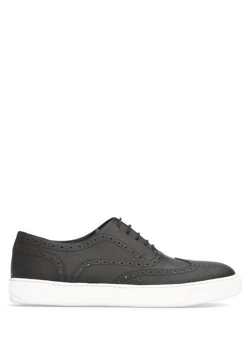 Siyah Klasik Erkek Sneaker