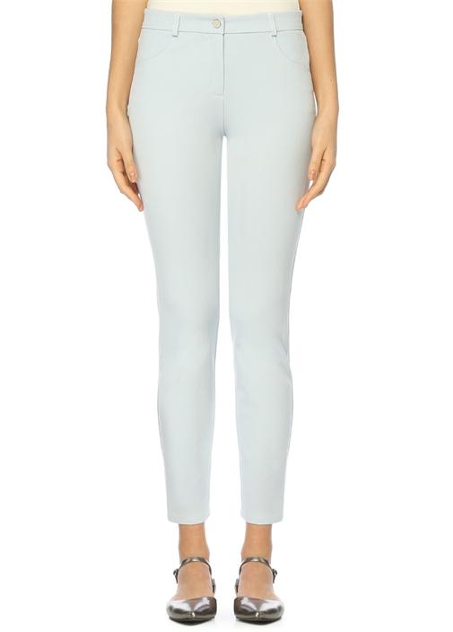Açık Mavi Skinny 5 Cepli Pantolon