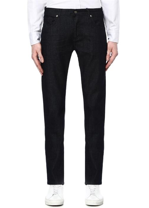 Koyu Yıkamalı Straight Fit Jean Pantolon