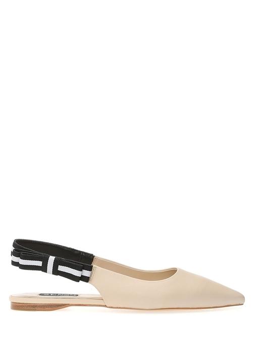 Helene Ekru Kadın Deri Ayakkabı