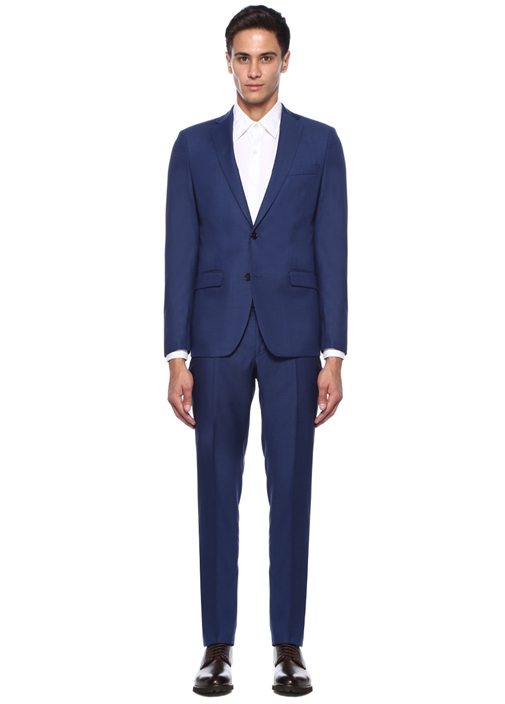 Uptown 120s Non Iron Lacivert Takım Elbise
