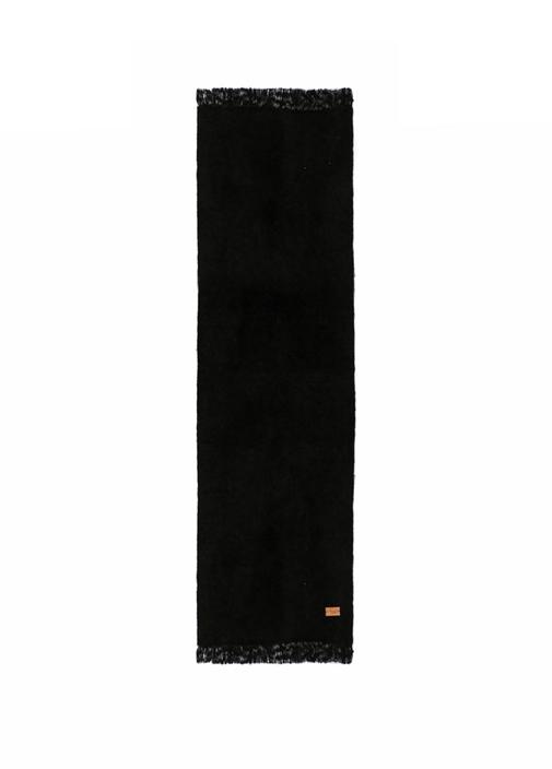 Siyah Dokulu Kırçıllı 30x168 cm Erkek Atkı