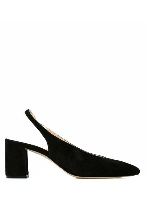 Siyah Kadın Süet Ayakkabı
