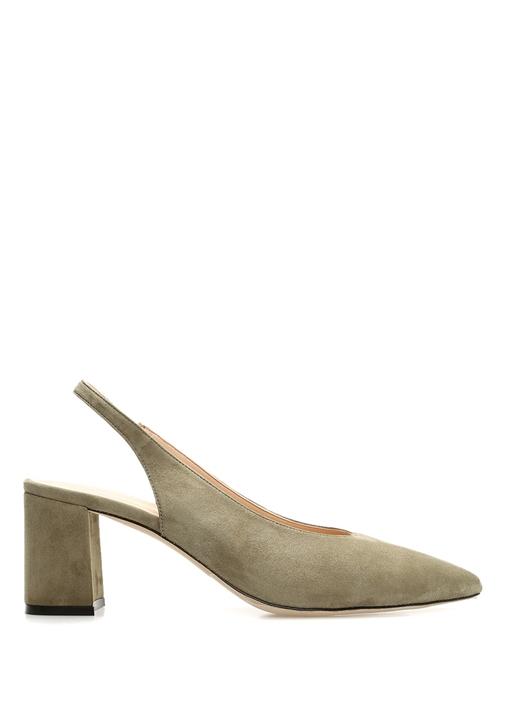 Haki Kadın Süet Ayakkabı