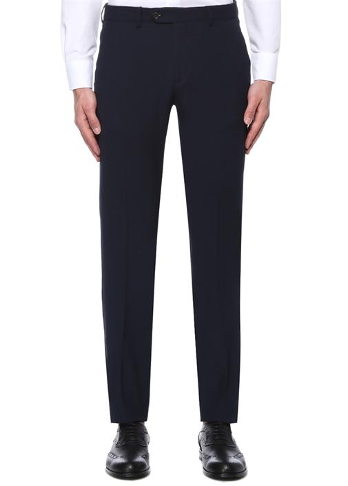 Lacivert Normal Bel Yarı Klasik Pantolon