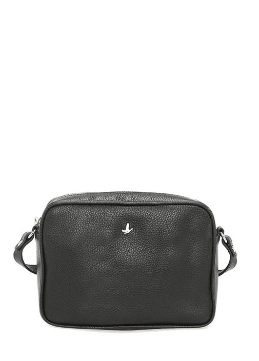 Siyah Püskül Detaylı Çanta